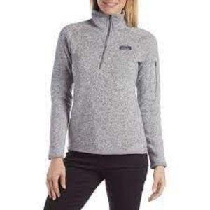 Patagonia Better Sweater® 1/4-Zip Fleece Grey